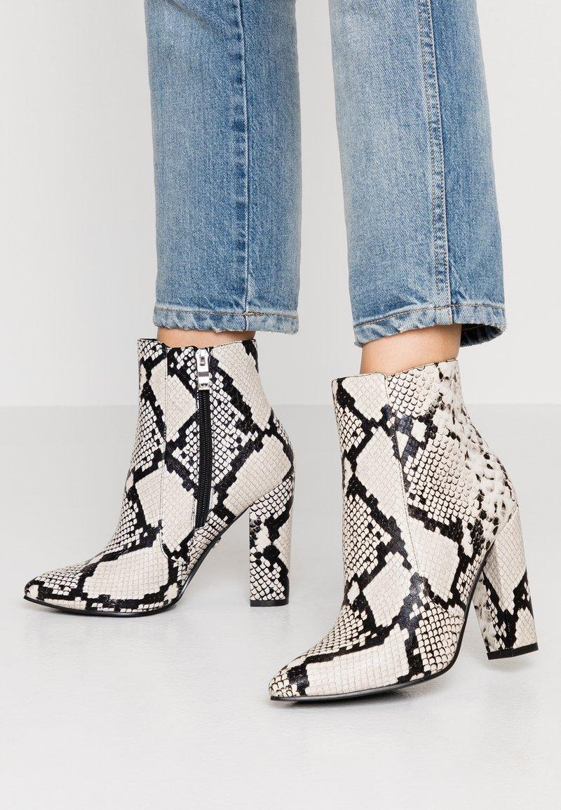 Tata Italia - High heeled ankle boots - black/grey