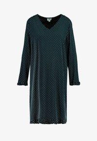 Saint Tropez - WOVEN DRESS ON KNEE - Day dress - black - 5