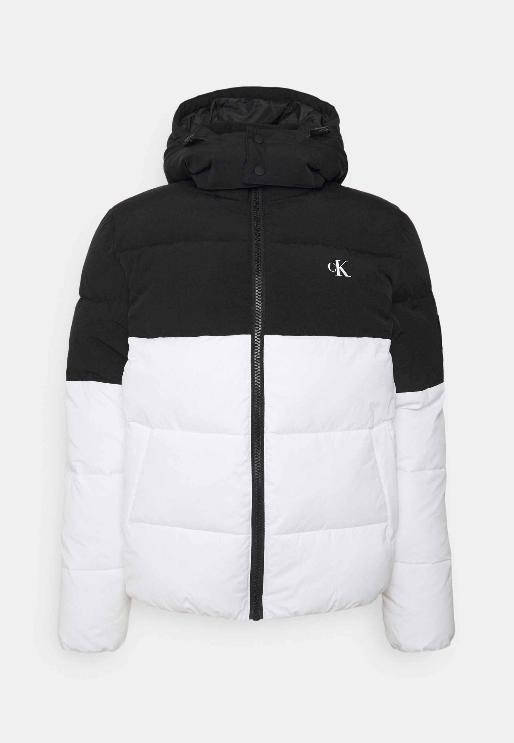 Uomo COLORBLOCK HOODED PUFFER - Giacca invernale