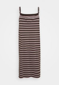 Nike Sportswear - FEMME DRESS MAXI - Day dress - baroque brown/metallic gold - 1