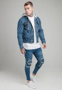 SIKSILK - BIKER - Skinny džíny - blue - 1