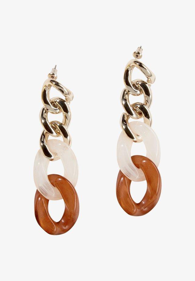 Earrings - ice gold
