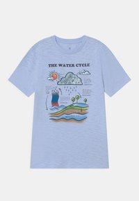 GAP - BOY LENTICULARHOLOGRAPHIC - Print T-shirt - bicoastal blue - 0