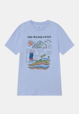 BOY LENTICULARHOLOGRAPHIC - T-shirt print - bicoastal blue