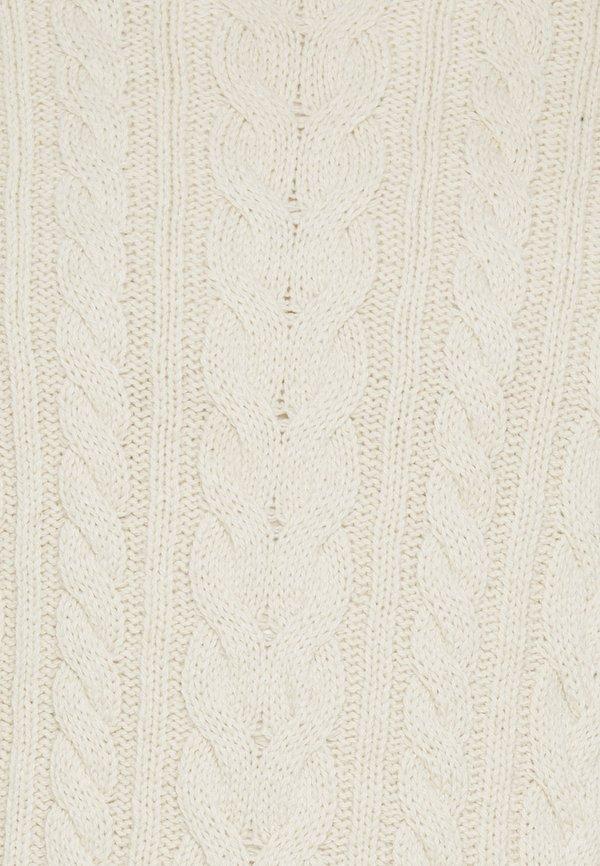 Schott BRUCE - Sweter - ecru/mleczny Odzież Męska MPCK