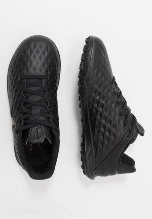 TIEMPO JR LEGEND 8 ACADEMY TF UNISEX - Astro turf trainers - black