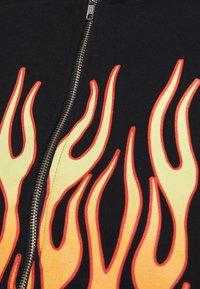 NEW girl ORDER - SPEED DEMON ZIP UP HOODIE - Zip-up sweatshirt - black - 5
