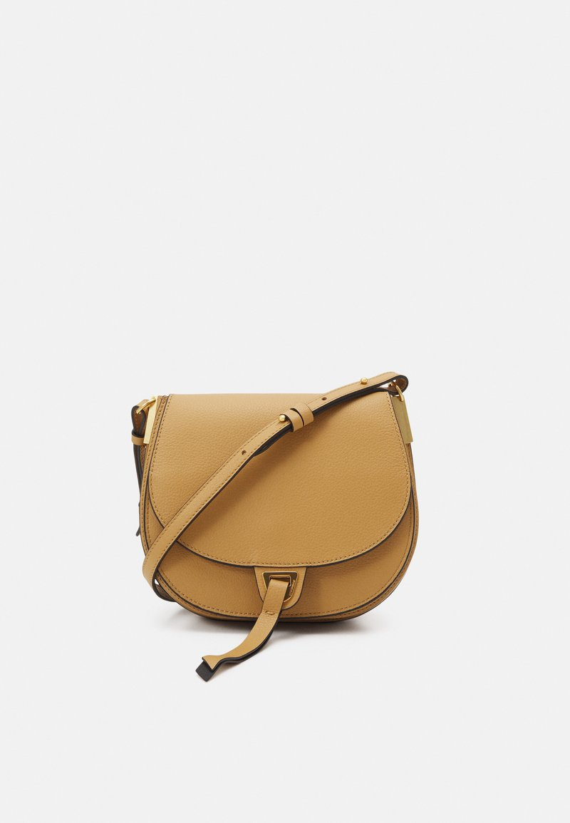 Coccinelle - ARPEGE - Across body bag - warm beige/noir