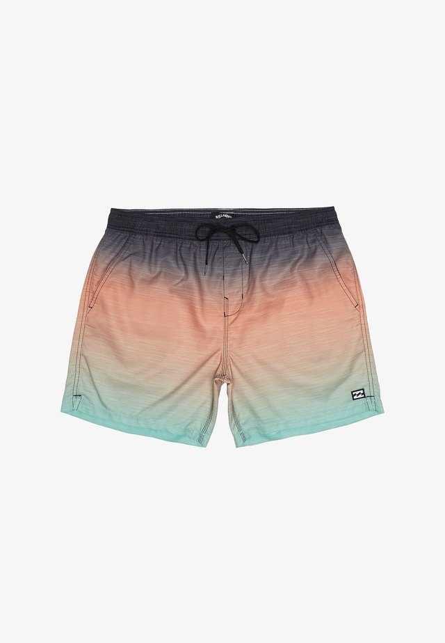 ALL DAY FADED - Swimming shorts - mint