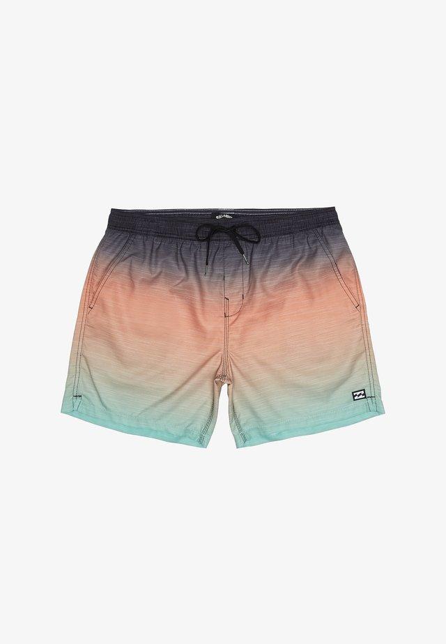 ALL DAY FADED - Shorts da mare - mint