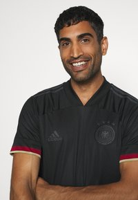 adidas Performance - DFB DEUTSCHLAND A JSY  - National team wear - black/carbon - 3