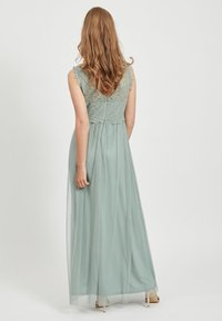 Vila - VILYNNEA MAXI DRESS - Vestido de fiesta - green milieu - 2