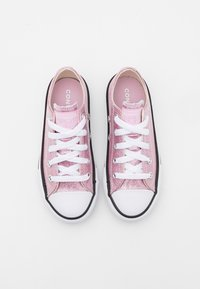 Converse - CHUCK TAYLOR ALL STAR GLITTER - Trainers - pink glaze/white/black - 3