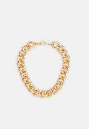 FLASHY CHAIN NECKLACE UNISEX - Necklace - gold-coloured