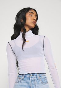 Fila - ALYRA CROPPED TOP - Long sleeved top - bright white - 4