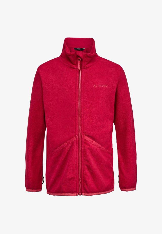 Fleece jacket - brombeer