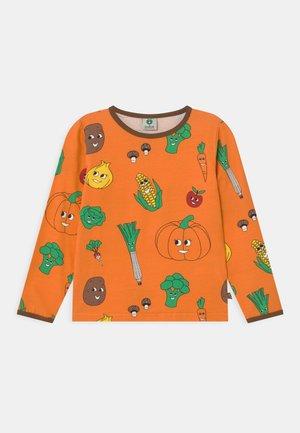 VEGETABLE UNISEX - Long sleeved top - orange