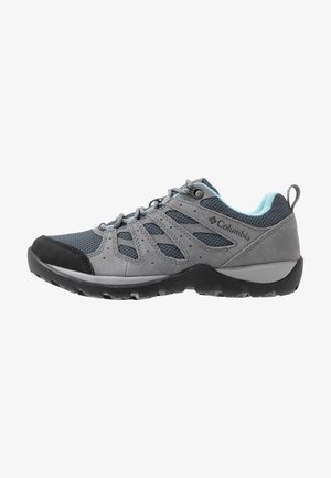 REDMOND V2 - Hiking shoes - graphite/blue