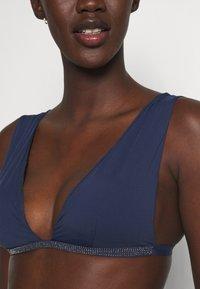Women Secret - HALTER REMOVABLE PAD - Bikini top - blue - 4