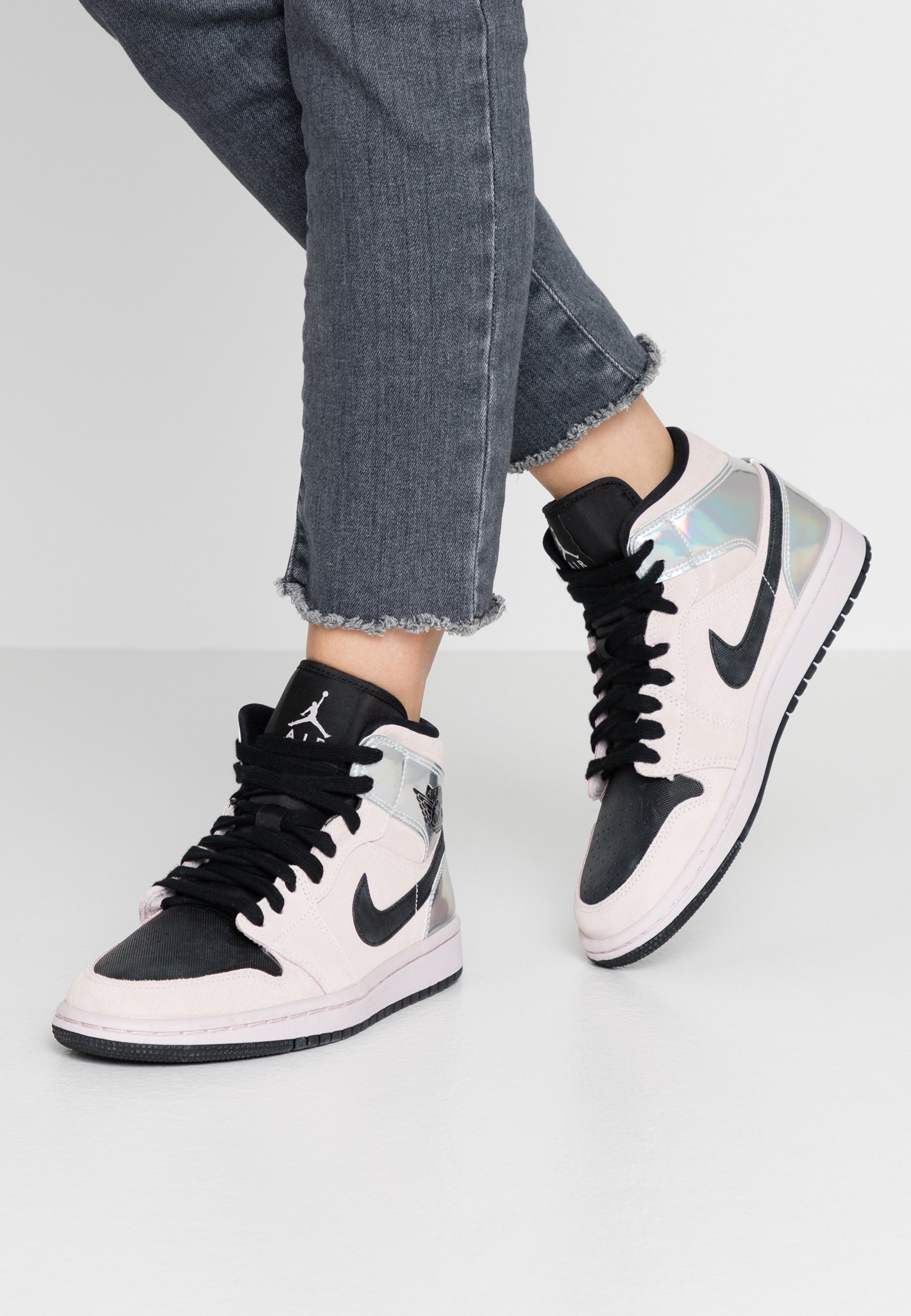 AIR 1 MID - Sneakers alte - barely rose/black/multicolor