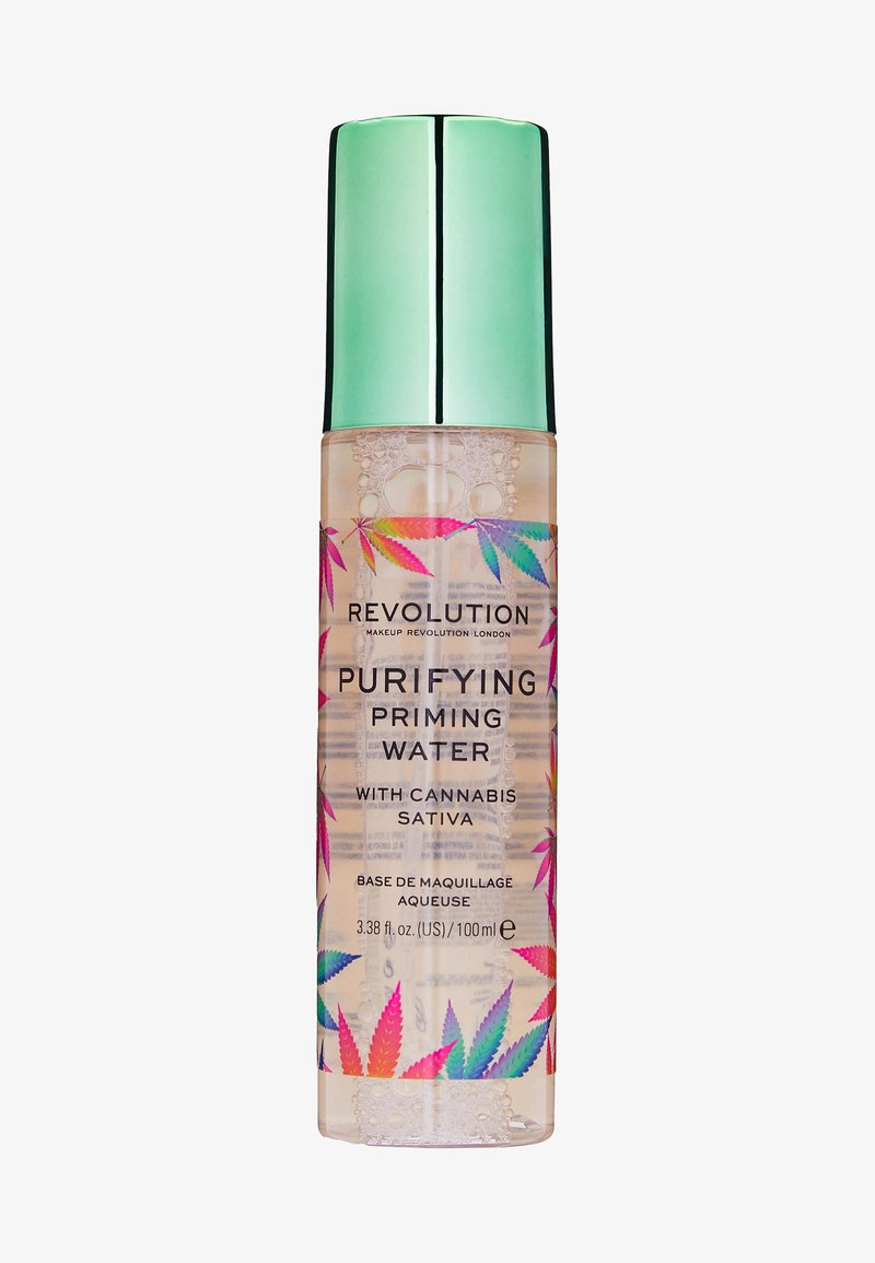 Make up Revolution - PRIMING WATER WITH CANNABIS SATIVA - Primer - -