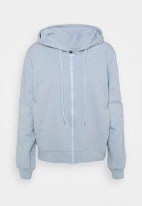 Trendyol - veste en sweat zippée - celestial blue - 4