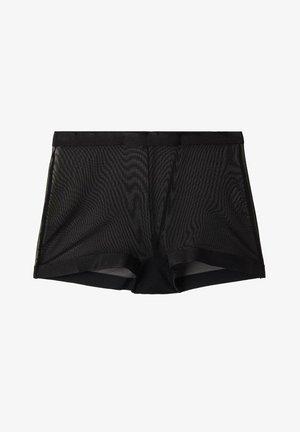 MIT HOHEM BUND - Pants - nero
