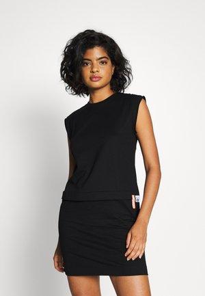 HATTER DRESS - Jersey dress - black