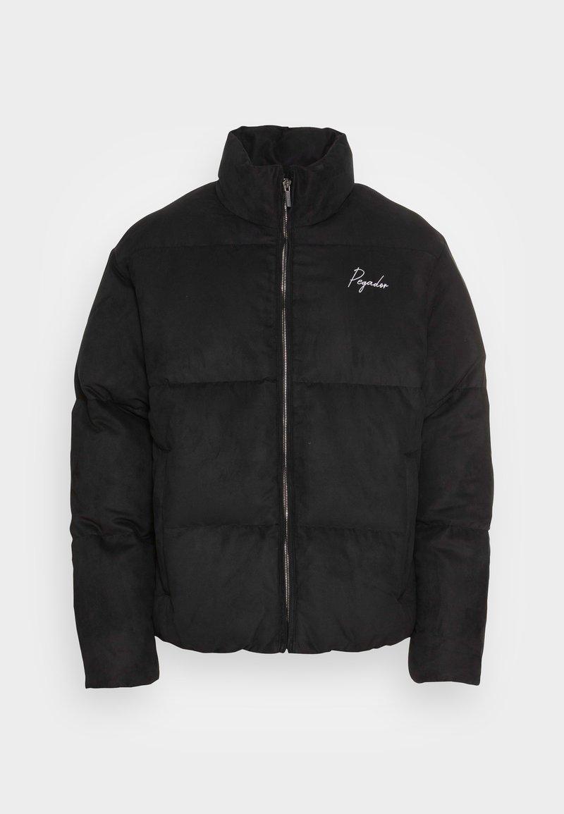 Pegador - NEUM PUFFER JACKET UNISEX - Zimní bunda - black