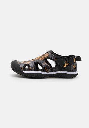 STINGRAY UNISEX - Watersports shoes - black/saffron