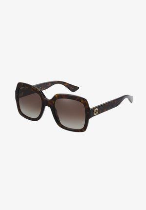 Sunglasses - havana/brown