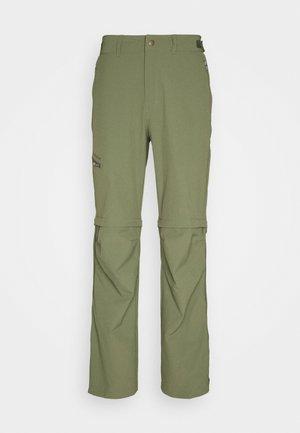 FARLEY T ZIP PANTS - Outdoor trousers - cedar wood