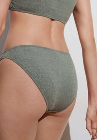 OYSHO - CLASSIC - Bikini bottoms - green - 3