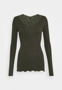 Rosemunde - Long sleeved top - black green - 0