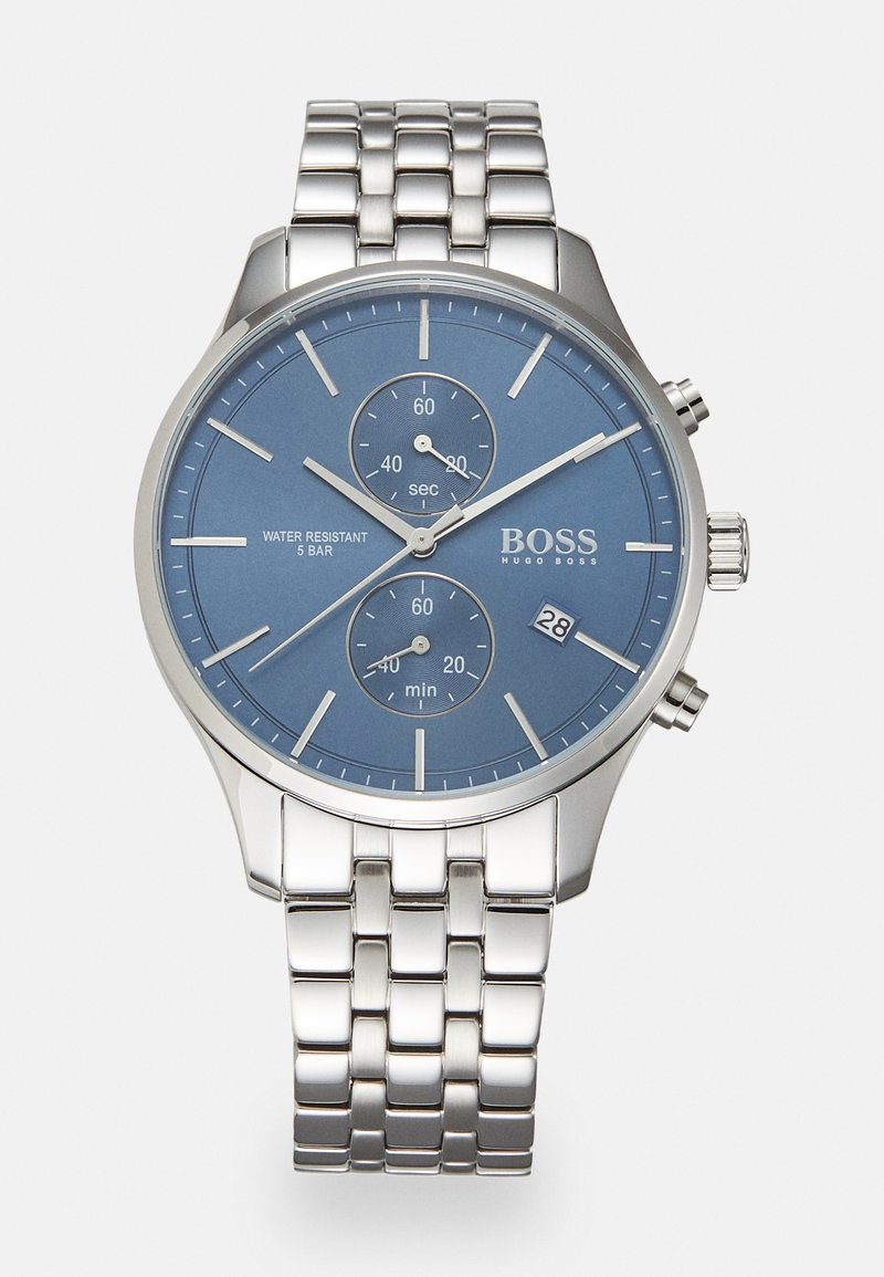 BOSS - ASSOCIATE - Chronograph watch - silver-coloured