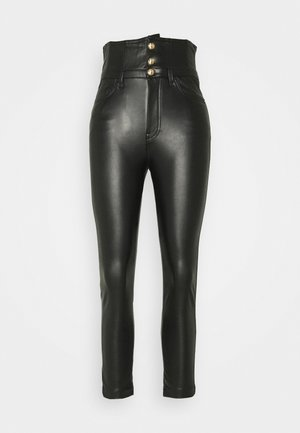 SUZIE TROUSERS - Trousers - black