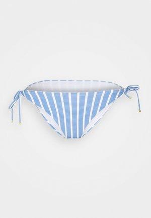 STRIPES STRING SIDE TIE - Bikinibroekje - blue
