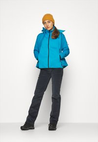 CMP - WOMAN JACKET ZIP HOOD - Soft shell jacket - zaffiro/danubio - 1