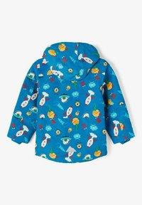 Name it - Waterproof jacket - mykonos blue - 1