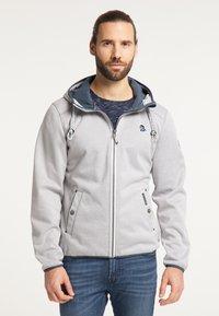 Schmuddelwedda - Outdoor jacket - hellgrau melange - 0
