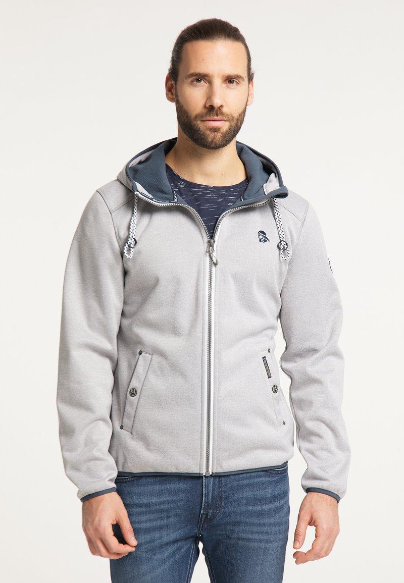 Schmuddelwedda - Outdoor jacket - hellgrau melange