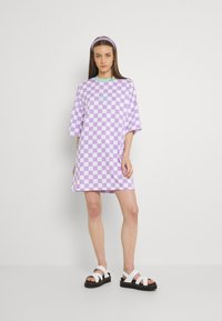 The Ragged Priest - STOKED DRESS - Jersey dress - purple/white - 1