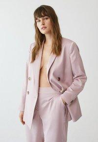 Violeta by Mango - Trousers - rosa - 4