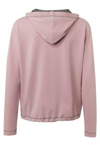 JUST WHITE - Zip-up hoodie - rose uni - 1