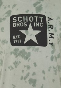 Schott - T-shirt print - kaki - 2