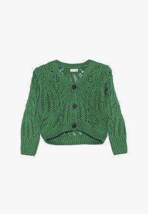 NKFLUJA - Cardigan - jolly green