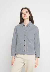 Lee - WORKER JACKET - Denim jacket - dark blue - 0