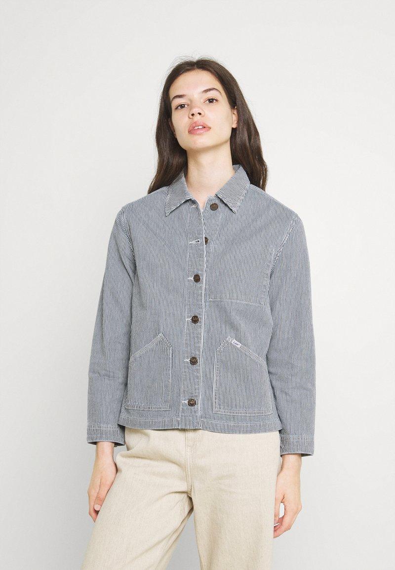 Lee - WORKER JACKET - Denim jacket - dark blue