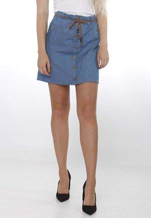 LISBETH - A-line skirt - medium blue