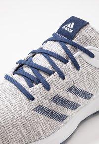 adidas Golf - S2G - Golfové boty - footwear white/tech indigo/grey three - 5